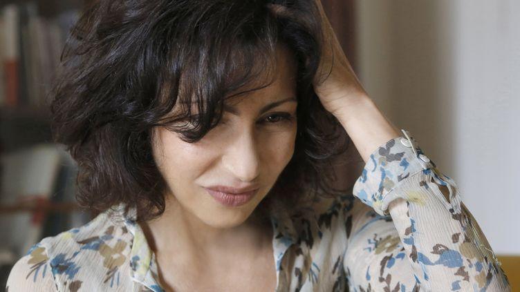 Yasmina Reza en mai 2014 (PASCAL VICTOR / ARTCOMART)