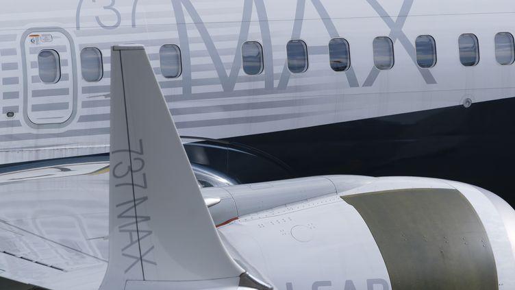 Après deux accidents mortels, le géant Boeing a dû se résoudre à arrêter la production de son 737 MAX. (STEPHEN BRASHEAR / GETTY IMAGES NORTH AMERICA / AFP)