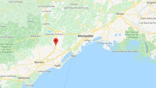 Cazouls-d'Hérault. (GOOGLE MAPS)