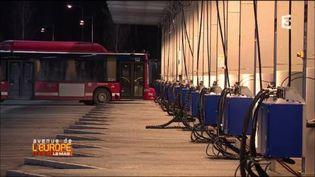 Les bus deStockholm roulentau biogaz. (FRANCE 3 / FRANCETV INFO)