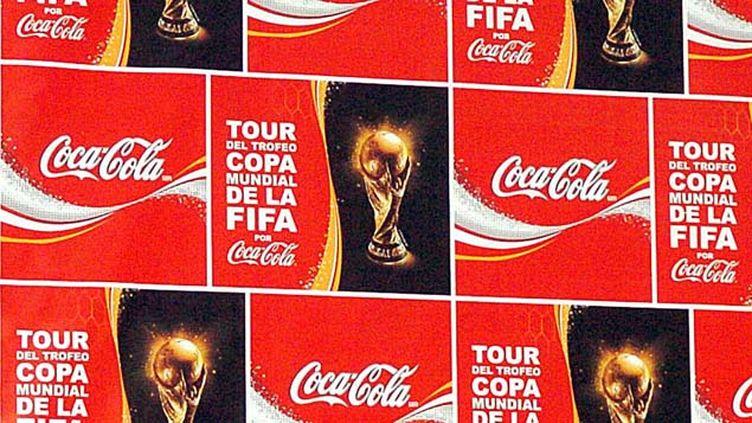 (Coca-Cola, partenaire historique de la Fifa, a appelé mercredi l'instance à plus de transparence © MaxPPP)