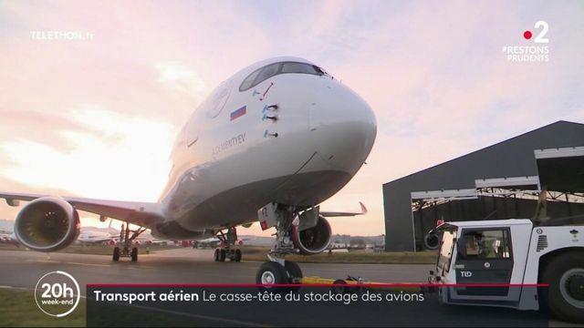 Transport aérien : plusieurs milliers d'avions stockés en raison de la crise sanitaire