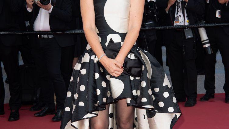 Zabou Breitman, lors du Festival de Cannes 2018 (NIVIERE/VILLARD/SIPA)