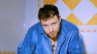 Le producteur français, et désormais chanteur, Myth Syzer.  (Alice Moitié)