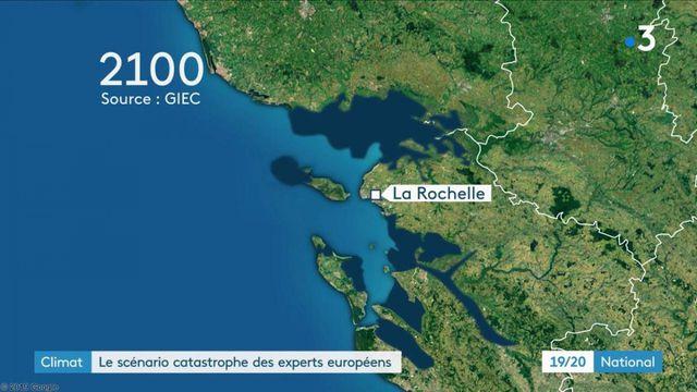 Climat : la montée des eaux inévitable en Europe selon les scientifiques