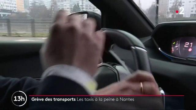 Grève SNCF : à Nantes, les taxis recherchent désespérément des clients