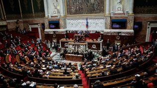Vue d'ensemble de l'Assemblée nationale, le 10 mai 2016. (MAXPPP)