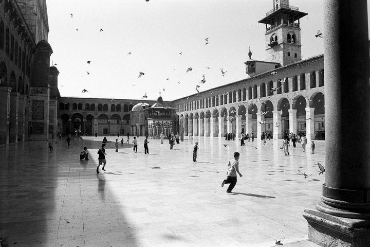 Mosquée des Omeyyades à Damas (Michel Eisenlohr)