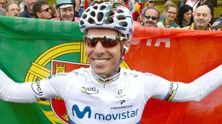 Rui Costa, actuellement le coureur qui a reçu le plus de lettres d'encouragement