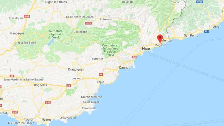 L'élève était scolarisé à Beausoleil (Alpes-Maritimes). (GOOGLE MAPS / FRANCEINFO)