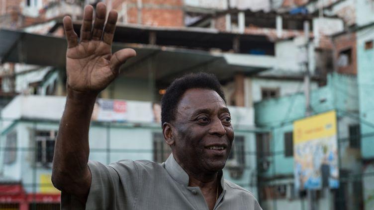 Pelé (YASUYOSHI CHIBA / AFP)