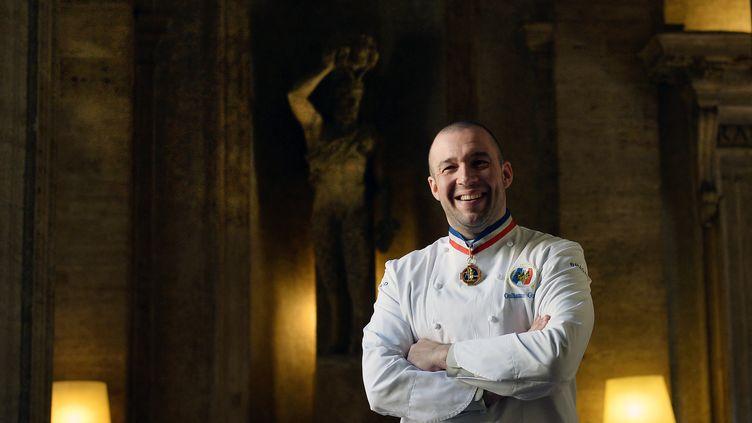 Guillaume Gomez, le chef des cuisines de l'Elysée, en 2015 (TIZIANA FABI / AFP)