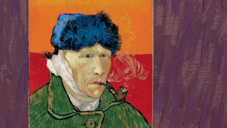 Autoportrait de van Gogh à l'oreille coupée  (France 3 Culturebox capture d'écran)