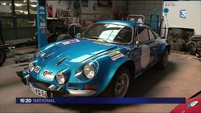 Automobile : à la découverte de l'atelier qui restaure les Renault Alpine