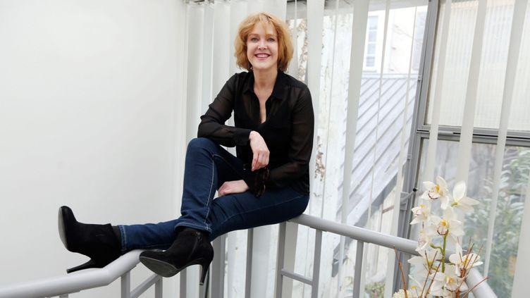 (Agnès Soral, le 20 mars 2015 © Maxppp)