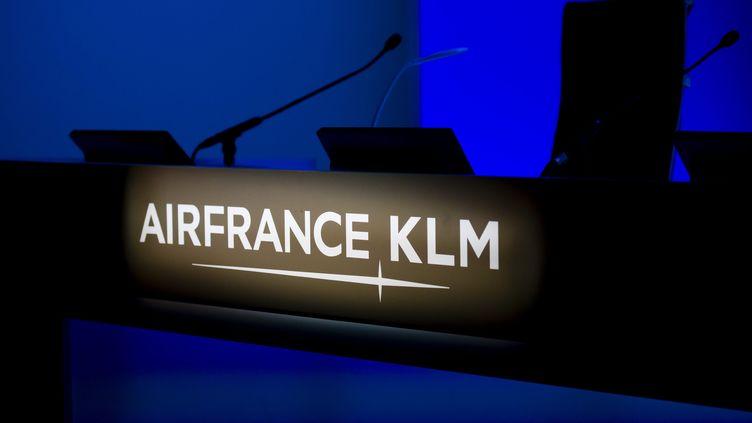 L'assemblée générale Air France-KLM, en mai 2018. (VINCENT ISORE / MAXPPP)