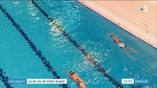 Handisport : nageuse olympique dans les années 80, elle vise les Jeux paralympiques de 2020