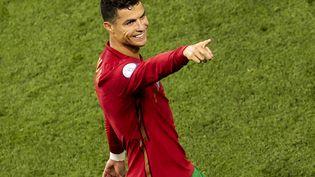 Cristiano Ronaldo fait partie de notre onze de la phase de poules. (DMITRIY GOLUBOVICH / ANADOLU AGENCY / AFP)