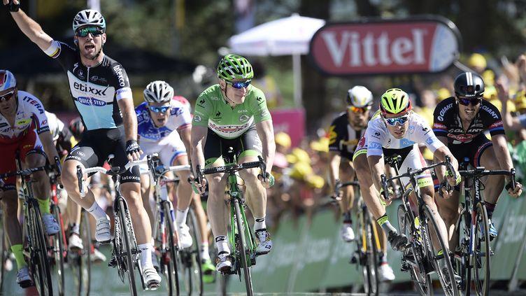 Mark Cavendish est le dernier sprinteur victorieux sur ce Tour (YORICK JANSENS / BELGA MAG)