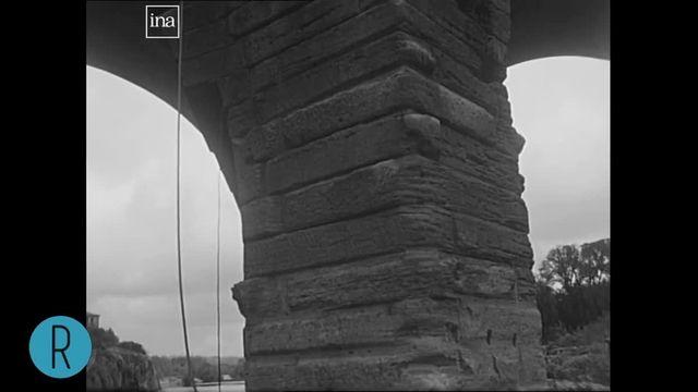 Dans le rétro : le pont du Gard, un chef d'oeuvre de l'architecture antique