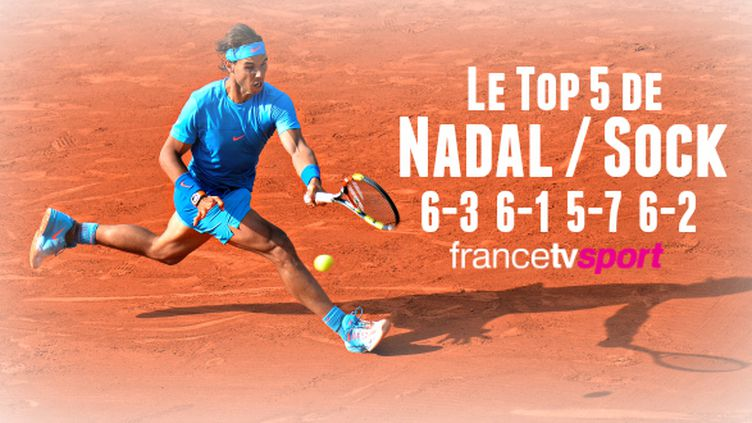 Nadal a lâché son premier set, mais retrouvera Djokovic