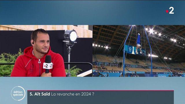 """Jeux olympiques : """"je ne lâcherai rien tant que je n'aurais pas cette médaille"""" promet Samir Aït Saïd"""