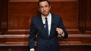 Bruno Retailleau, le président du groupe Les Républicains au Sénat, le 3 juillet 2017. (ERIC FEFERBERG / POOL / AFP)