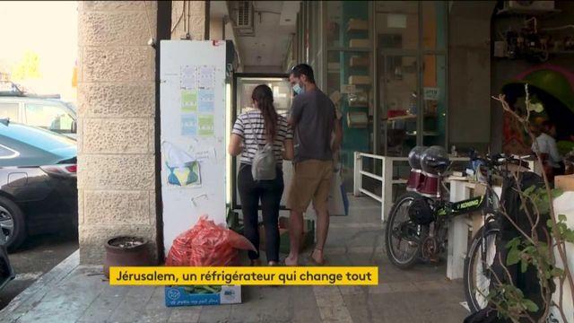 Israël : des frigos contre le gaspillage et pour la solidarité