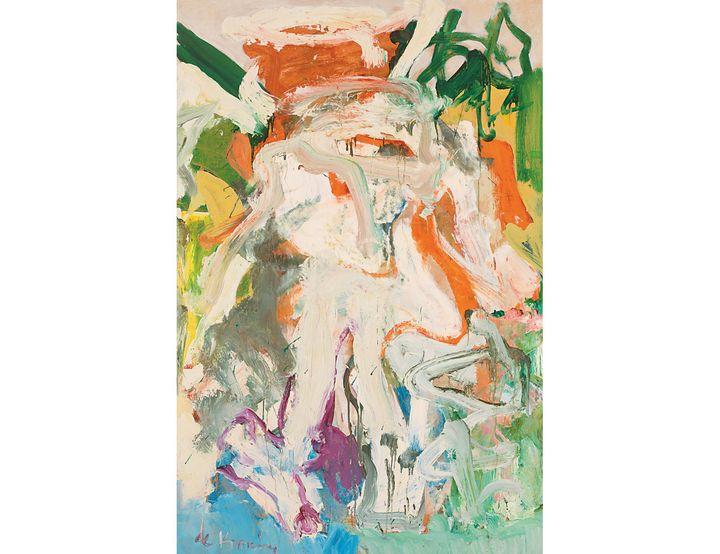 "Willem de Kooning (1904-1997), ""Femme dans un paysage III (Woman in Landscape III)"", 1968, Whitney Museum of American Art, New York; purchase with funds from Mrs. Bernard F. Gimbel and the Bernard F. and Alva B. Gimbel Foundation Artwork (©The Willem de Kooning Foundation / Adagp, Paris 2021, Digital Image © Whitney Museum of American Art)"