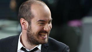 """Kyan Khojandi, créateur de la série """"Bref."""", au festival de Cannes, le 19 mai 2012. (LOIC VENANCE / AFP)"""
