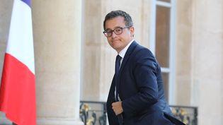 Le ministre de l'Action et des Comptes publics, Gérald Darmanin, le 27 juin 2018 à Paris. (LUDOVIC MARIN / AFP)