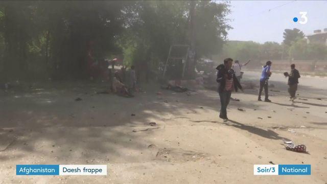 Afghanistan : au moins 25 morts à Kaboul dans des attentats revendiqués par l'État islamique