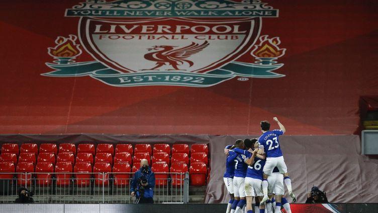 C'est la première fois depuis 1999 qu'Everton s'impose à Anfield.  (PHIL NOBLE / POOL)