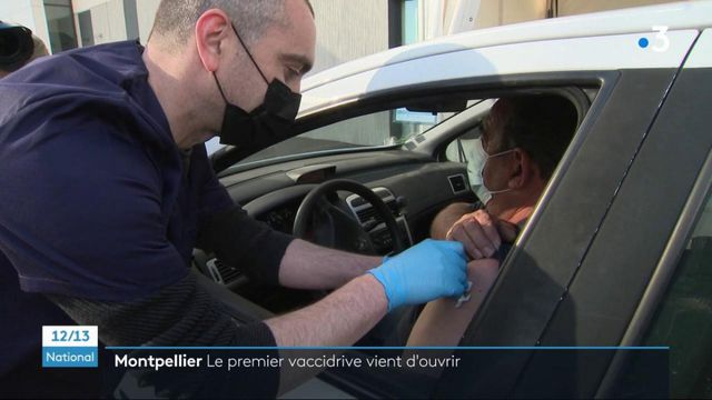 """Covid-19 : le premier """"vaccidrive"""" ouvre près de Montpellier"""