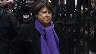 Martine Aubry à Paris, en mars 2017. (DOMINIQUE FAGET / AFP)