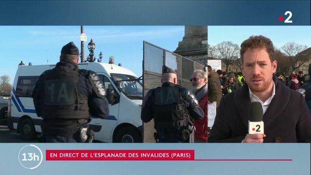Manifestation parisienne contre la réforme des retraites: 6000 policiers et gendarmes mobilisés