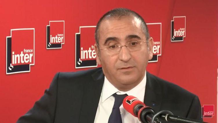 Laurent Nuñez, secrétaire d'État auprès du ministre de l'Intérieur, était l'invité de France Inter. (FRANCE INTER / RADIOFRANCE)
