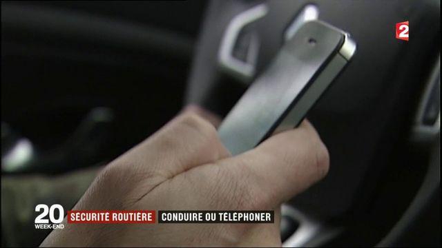 Sécurité routière : les dangers du téléphone au volant
