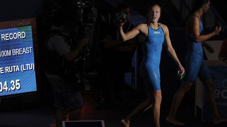 La Lituanienne Ruta Meilutyte a battu le record du monde du 100m brasse