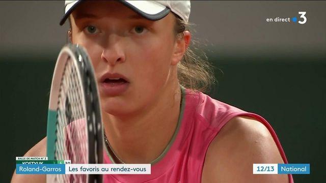 Roland-Garros : les favoris au rendez-vous des quarts de finale