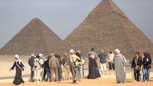 Les pyramides d'Egypte. (MAXPPP)