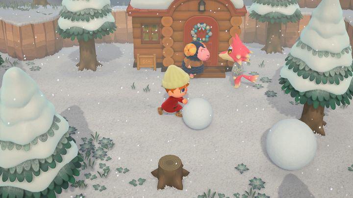 """Dans """"Animal Crossing"""", les saisons se succèdent exactement comme dans la vraie vie. (NINTENDO)"""
