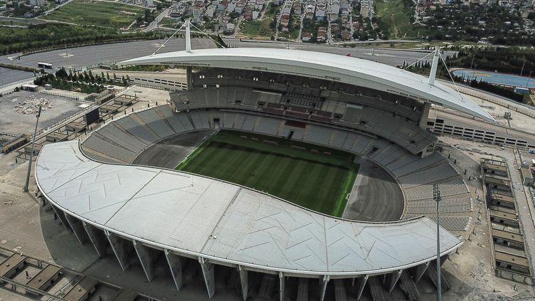 La finale de Ligue des champions 2023 se déroulera dans le stade olympique Atatürk d'Istanbul. (OZAN KOSE / AFP)