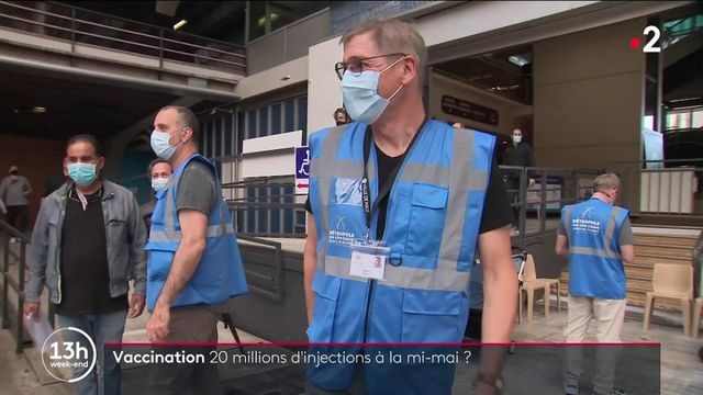 Vaccination contre le Covid 19 : Objection 20 millions de vaccinés pour le 15 mai