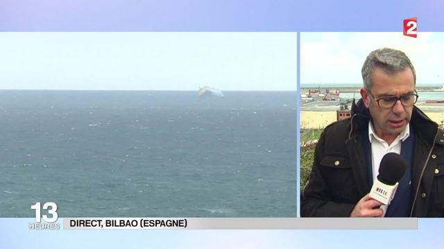 """""""Modern Express"""" : le navire devrait entrer dans le port de Bilbao mercredi après-midi"""