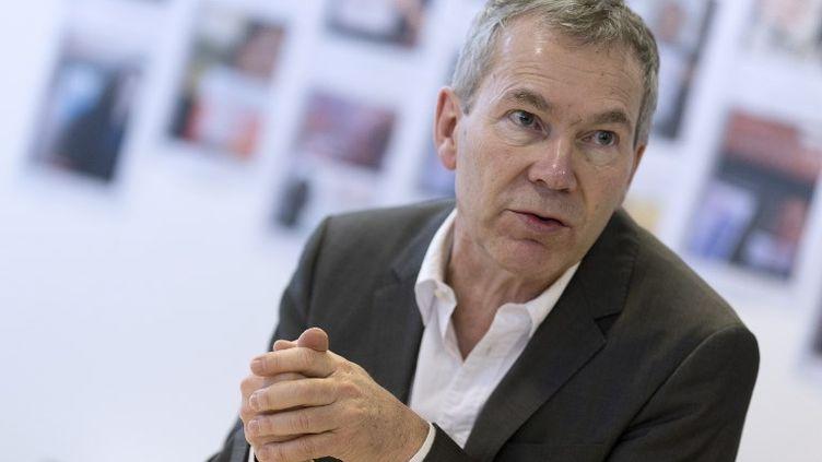 Jacques Battistoni, président du premier syndicat de médecins généralistes, MG France. (KENZO TRIBOUILLARD / AFP)