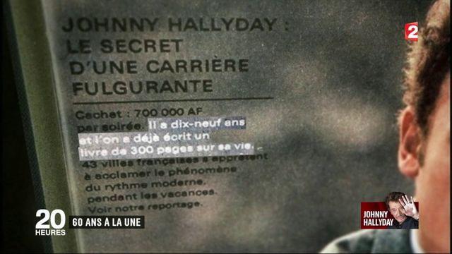 Johnny Hallyday : 50 ans à la une de la presse