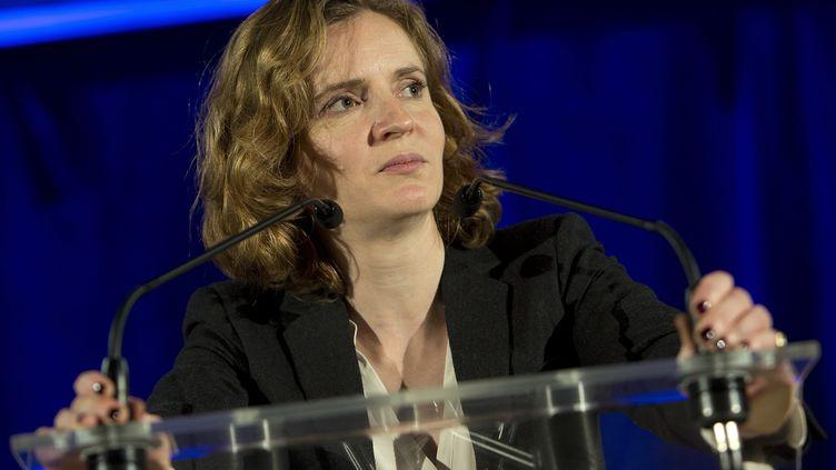 La vice-présidente de l'UMP, Nathalie Kosciusko-Morizet, s'exprime à Béthune (Pas-de-Calais), le 2 février 2015. (MAXPPP)