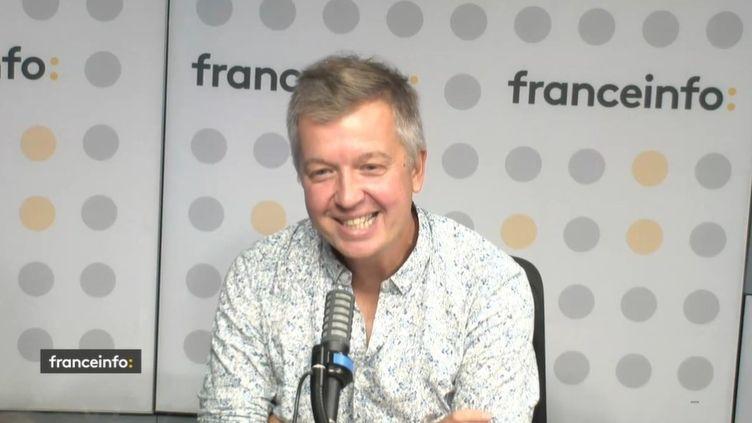 David Groison, directeur des titres ados du groupe Bayard. (CAPTURE D'ÉCRAN FRANCEINFO)
