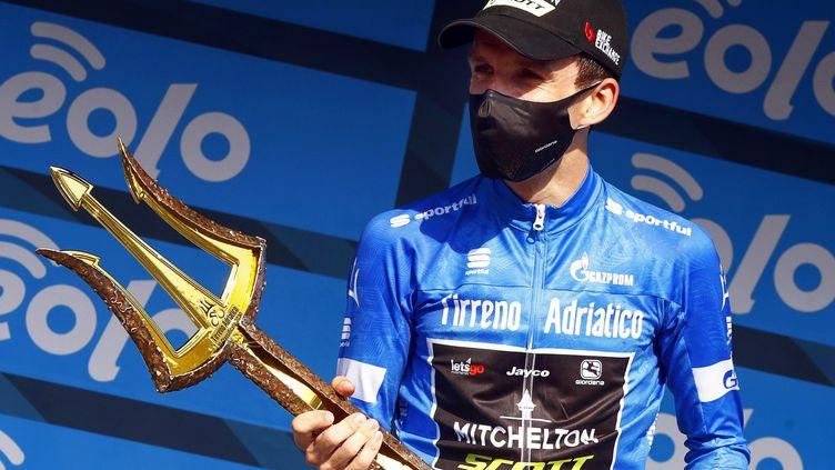 Simon Yates, premier Britannique à remporter le Tirreno-Adriatico (ROBERTO BETTINI / ANSA)
